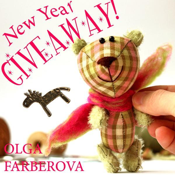 розыгрыш, мишка тедди, подарок, новый год 2014, символ 2014 года