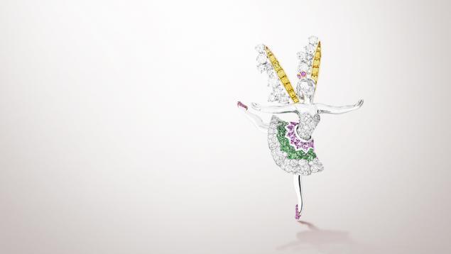 Танец, как источник вдохновения в украшениях Van Cleef & Arpels, фото № 6