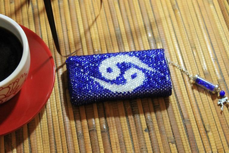 курс вязания с бисером, мк по вязанию с бисером, вязать, вязанный чехол, чехол для телефона, вязаная сумка