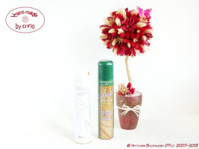 топиарий из сухоцветов, dried flower spray, топиарий правила ухода, авторский топиарий, декоративное дерево