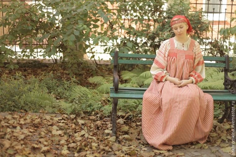 русские традиции, шитьё