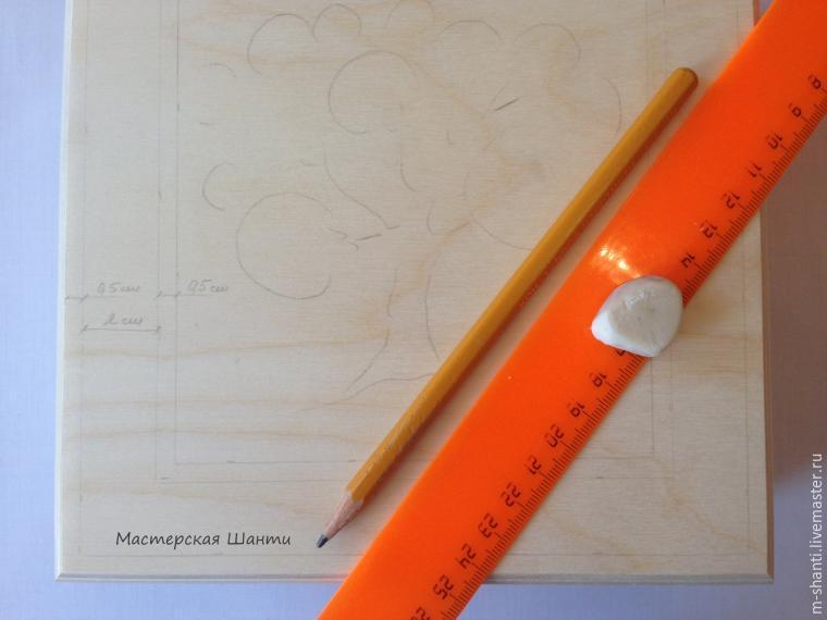 Расписываем яркую шкатулку-развивайку для детей, фото № 4