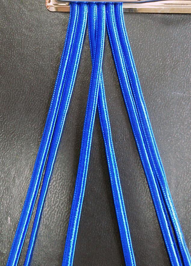 плетение из шнуров