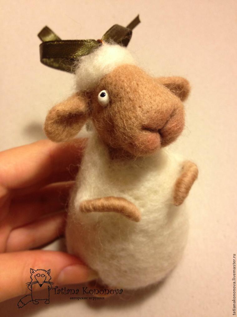 делаем овечку