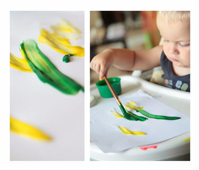 Как рисовать с малышом полутора лет, фото № 12