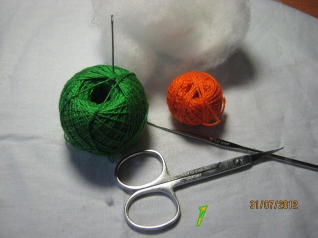 Материалы для вязания.
