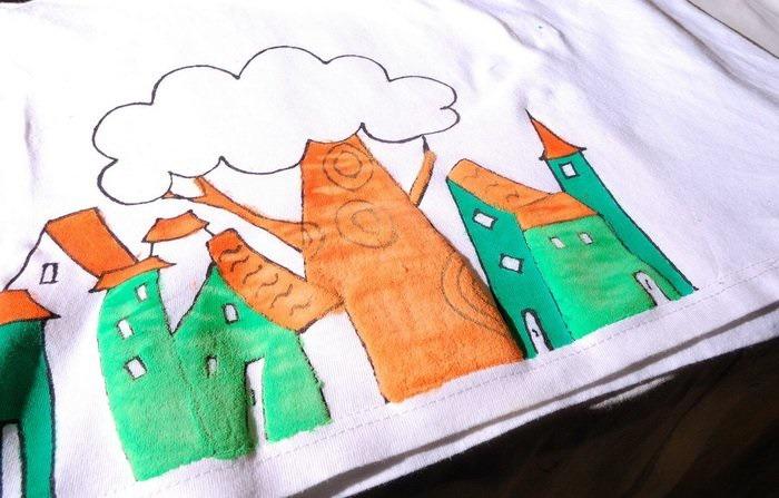 Мастер-классы рисовать по ткани
