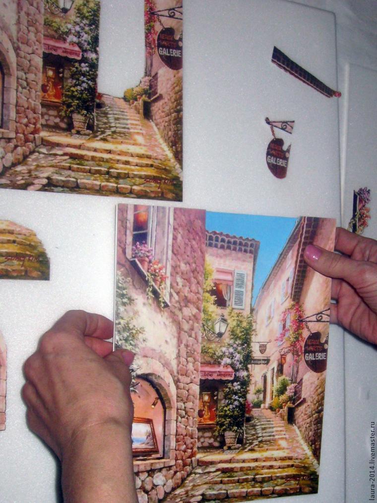 3D картина своими руками. Папертоль или 3D декупаж, фото № 10