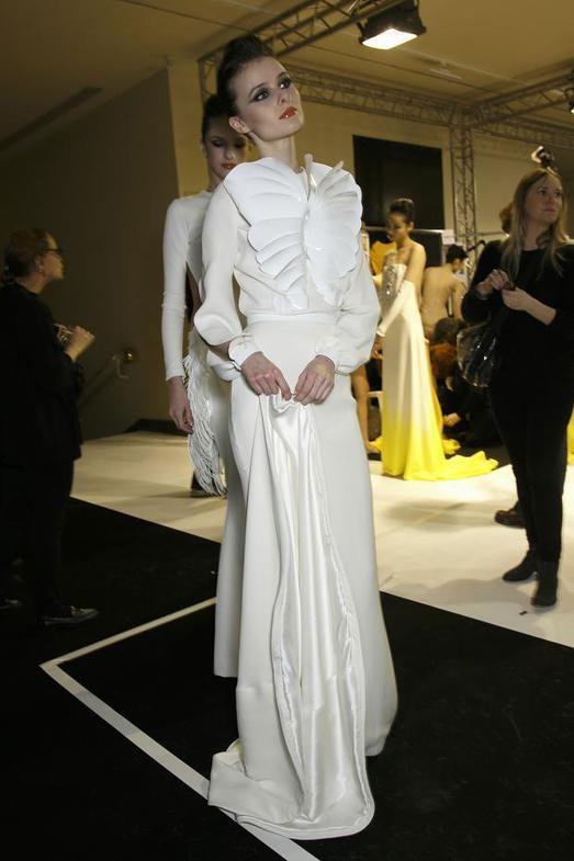 Stephane Rolland Haute Couture весна-лето 2014, фото № 53