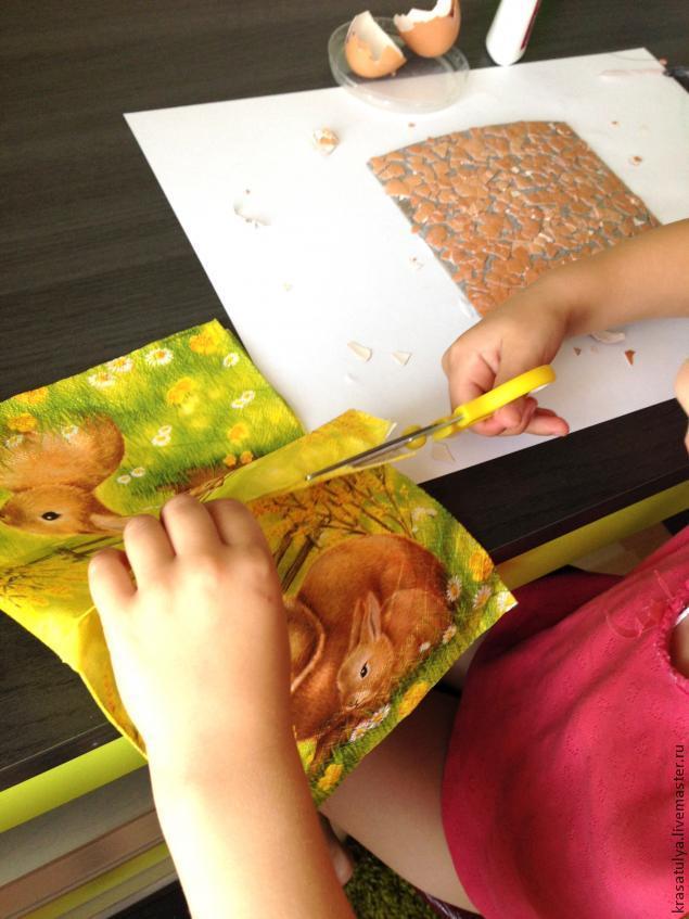 Делаем фреску вместе с детьми, фото № 6