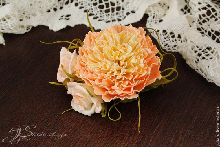 мк одинцово, мастер-класс, цветы из фоамирана, пион из фоамирана