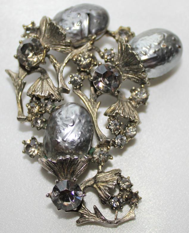 винтаж, необычное украшение, винтаж и камни, стильный подарок