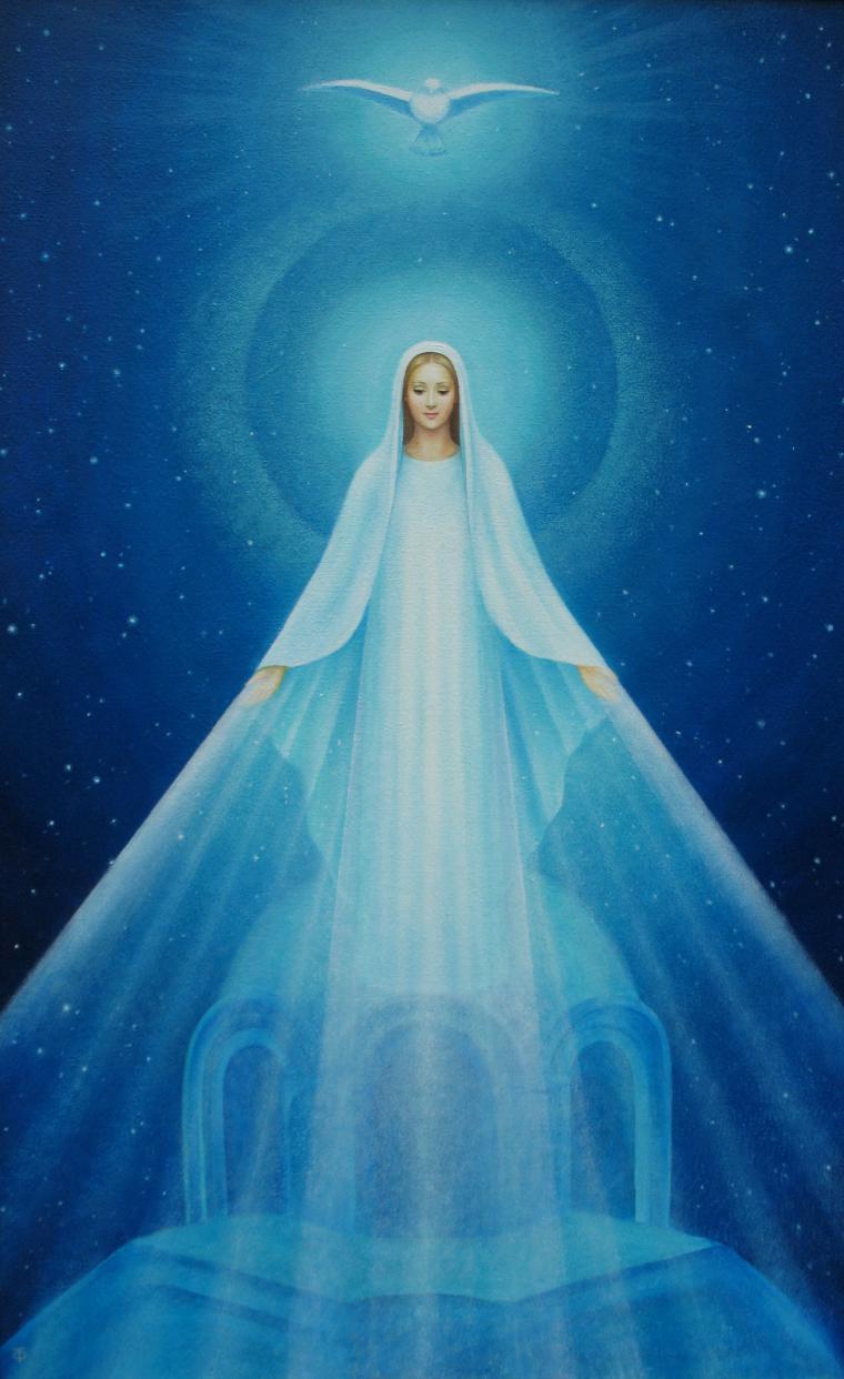 нередко сегодня во сне видела образ богородици на небесах открыть