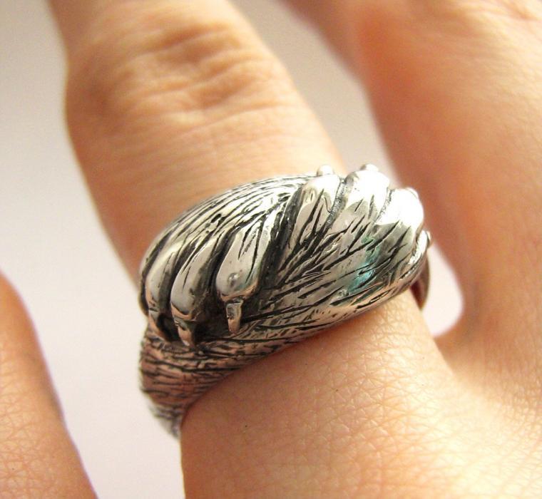 металлическая глина, кольцо
