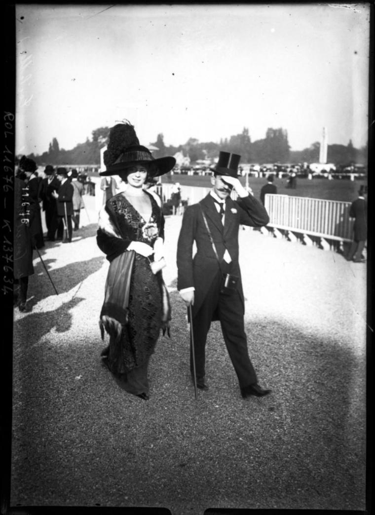 3676e2de284 Парижская мода начала ХХ века в фотографиях – Ярмарка Мастеров
