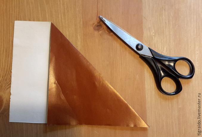 Оригами: пасхальная курочка, фото № 1
