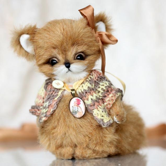 лиса, игрушечная лиса