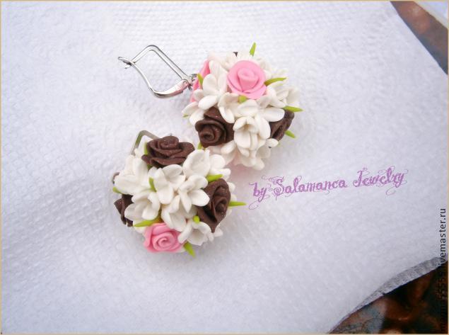 цветочные шары мк, розы из пластики