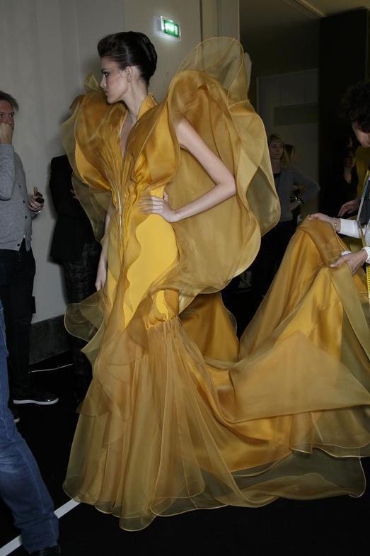 Stephane Rolland Haute Couture весна-лето 2014, фото № 61