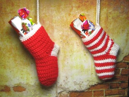 Носки для подарков связать 27