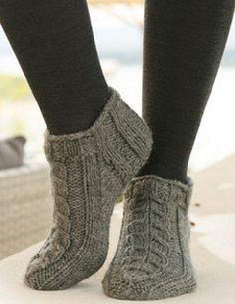 Вязание носков-следков