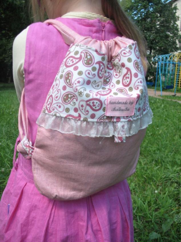 Как сшить детский рюкзак своими руками мастер класс рюкзаки оксфорд официальный