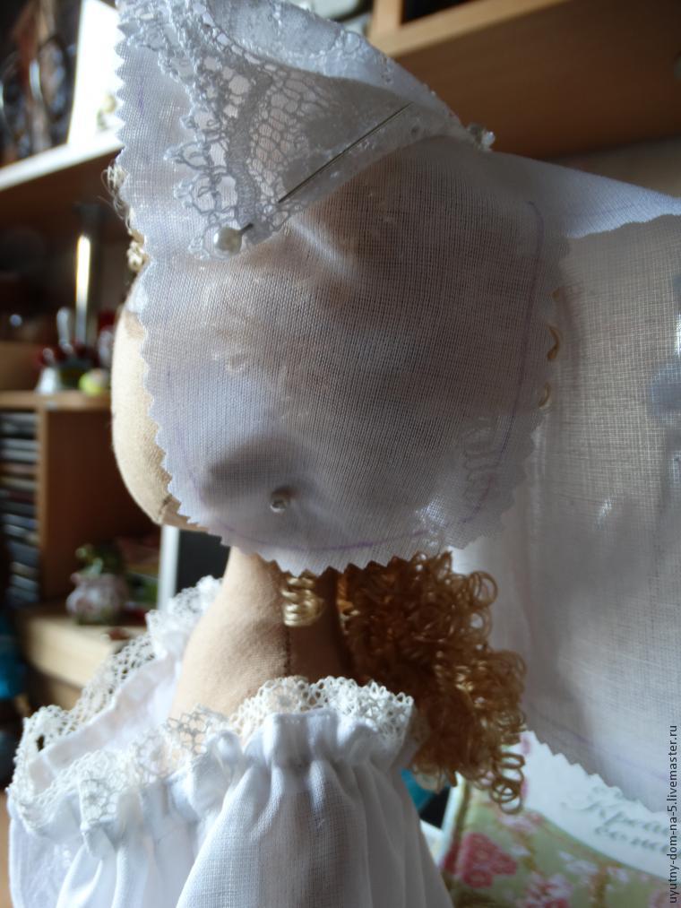 ночной чепец для куклы