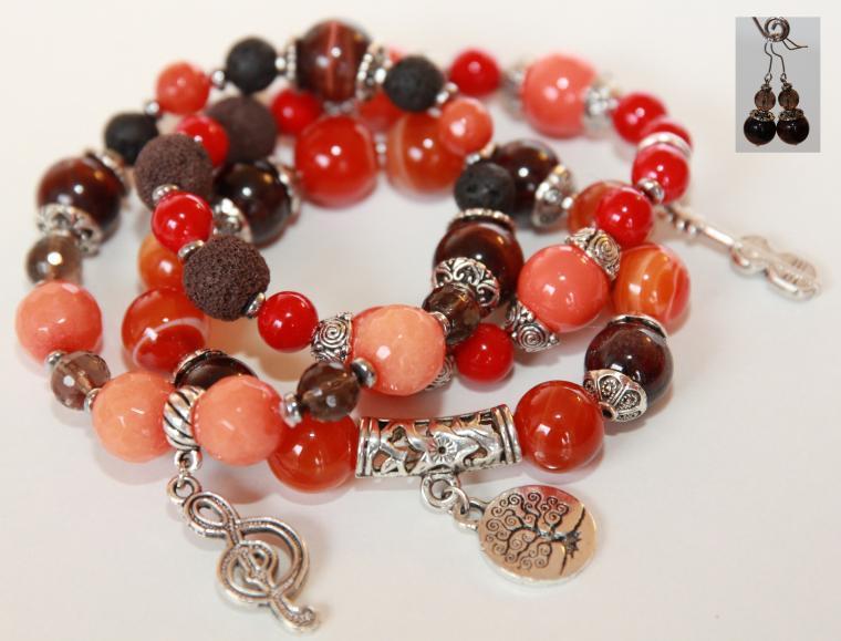 подарок на новый год, благотворительность, благотворительный аукцион, помощь ребенку, аукцион сегодня, камни натуральные, браслеты из камней, стильные украшения, доброе дело, акция