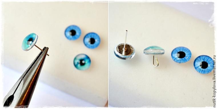 Глаза для игрушек сделать своими руками