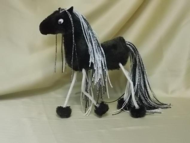 год лошади, лошадь, игрушка ручной работы
