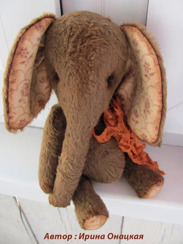 слоник сшить