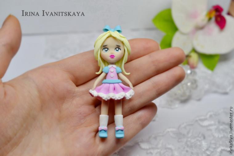 Куклы своими руками из полимерной глины для начинающих