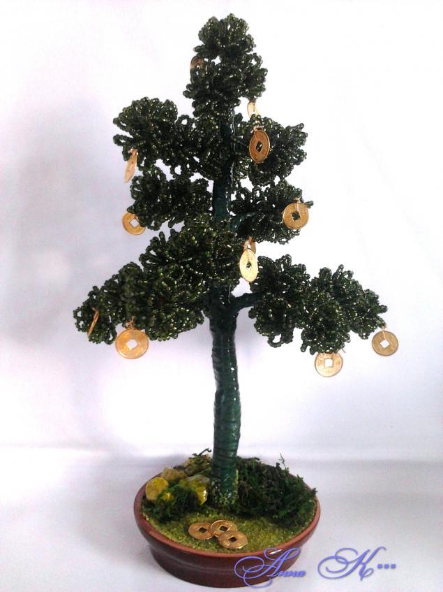 Что же делать, чтобы сохранить красоту цветов и деревьев из бисера?, фото № 3
