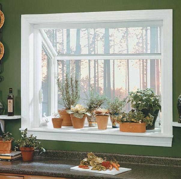 Kitchen Windows Boxed Out: Как украсить кухню: 10 недорогих идей
