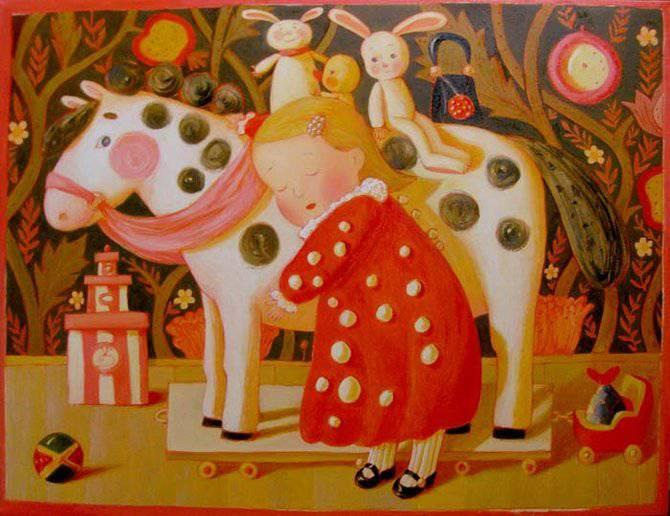Путешествие в детство с белорусской художницей Анной Королёвой, фото № 9