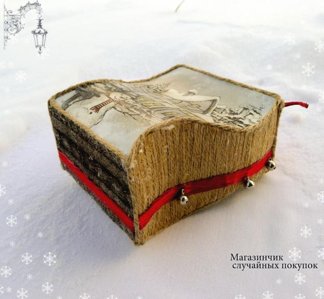 короб, новогодний подарок, фотографии