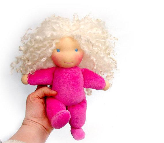 вальдорфская кукла, новорожденному