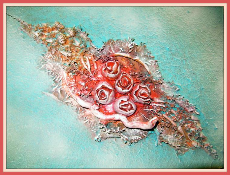 терра, картина, морской