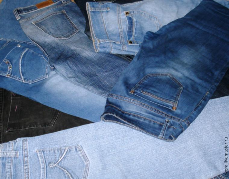 Шьём джинсы девочке мастер класс как сделать #12