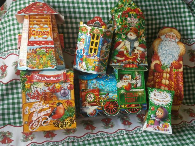 коробки для  подарков, для новогодних подарков