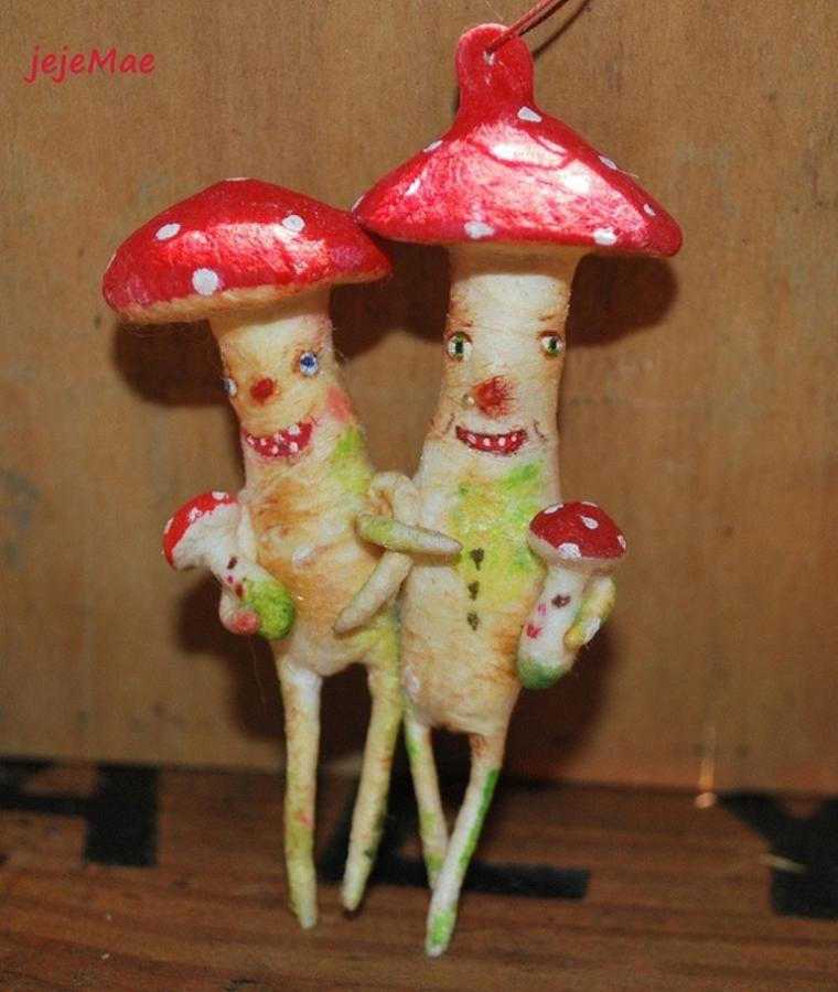 фото грибы в рукоделии эту закуску