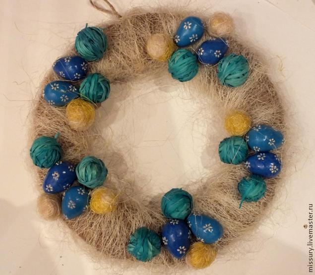 пасхальный сувенир, подарок бабушке, декорирование