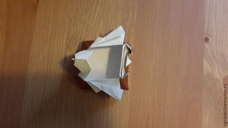 Оригами: пасхальная курочка, фото № 28