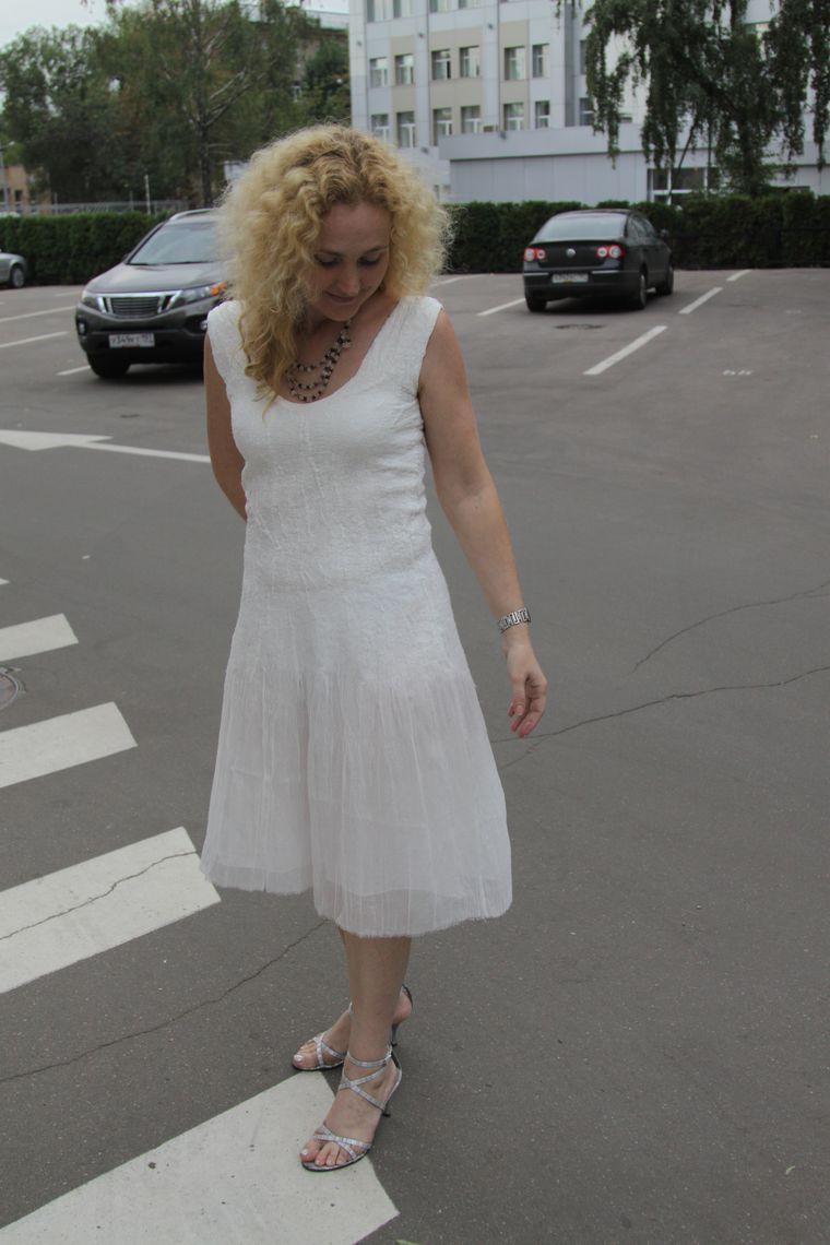 валяем платье