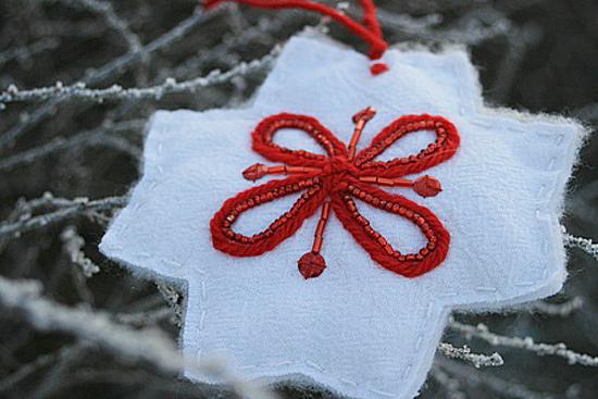 рождественские звезды, елка, фанерарный, красный