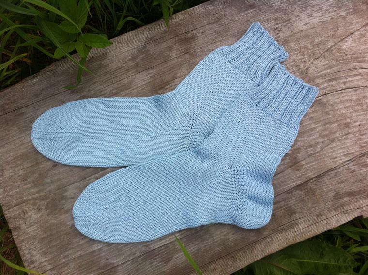 Упрощенное вязание носков
