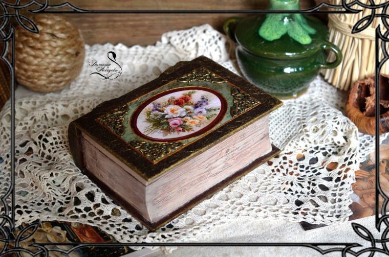 Шкатулка книги своими руками