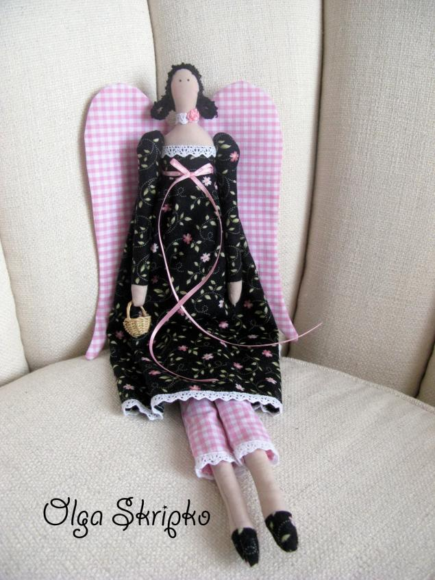 тильда, кукла своими руками, шить тильд, творчество, интерьерная игрушка, ангел, винтажный стиль, курсы по тильдам