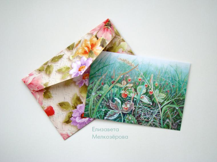 открытки в подарок, бордовый