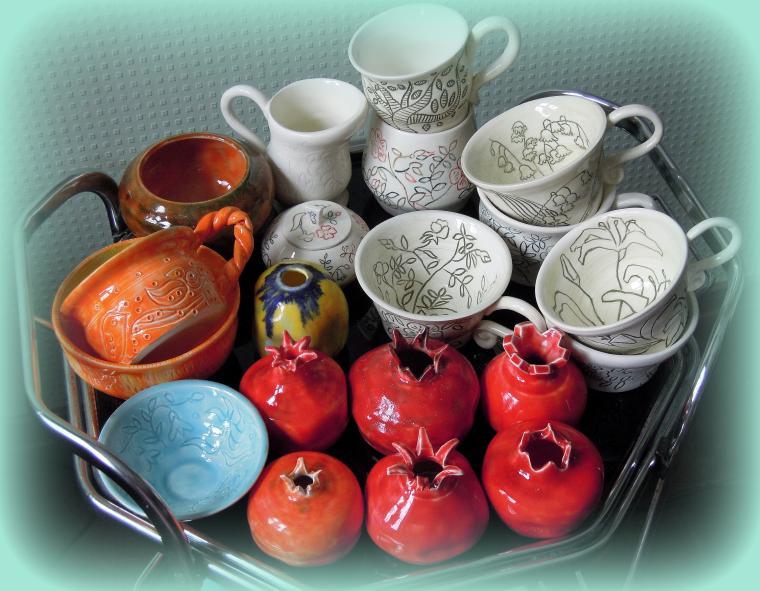 керамика, посуда, авторская керамика, керамика ручной работы, гончарный круг, гончарная керамика, для интерьера